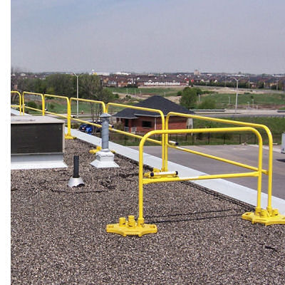Guardrail Rentals - Safety Railing Rentals For Temporary Guardrail ...