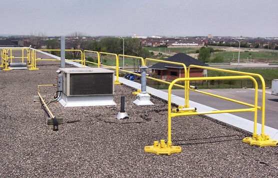 Roof-Edge Protection In Select Areas Saves Time and Money