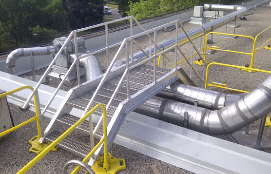 Modular Rooftop Guardrails For Added Safety