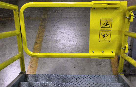 Safety Gate Fall Protection For Bottom Of Stairs