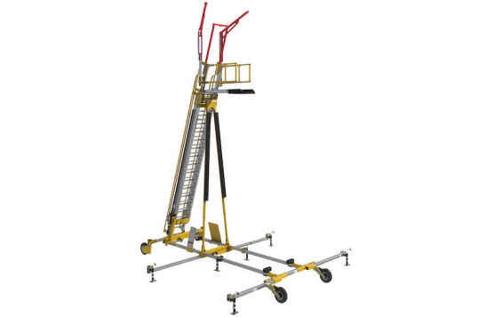 DBI-Sala Flexiguard Mobile Work Platform With Fall Arrest Anchor