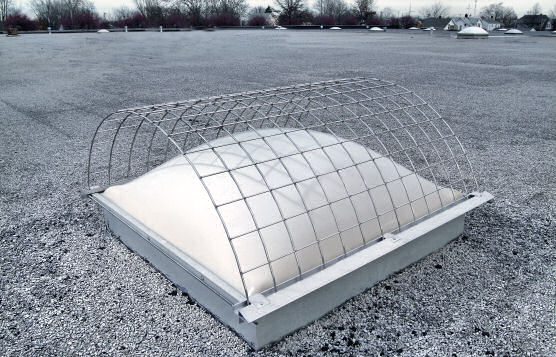 Kee Guard Skylight Screens For Rooftop Fall Protection