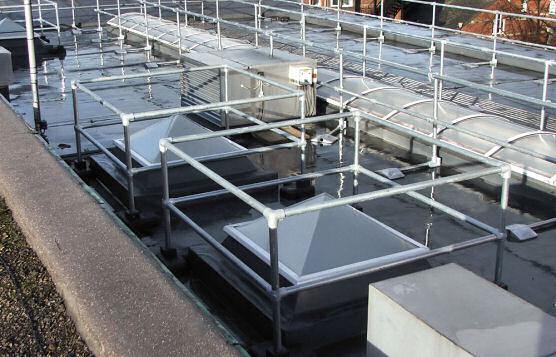 KeeGuard Railings On Rooftops Are Adaptable