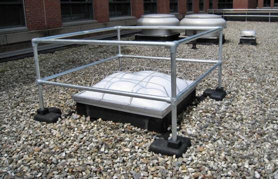 Non-Penetrating Railings Eliminate Leaks and Repairs