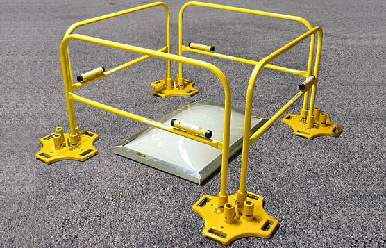 BlueWater Manufacturing Safety Rail 2000 Is Affordable and Simple To Assemble