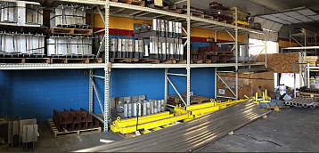 FallProof's Warehouse of Quick-Ship Fall Protection Net Rentals