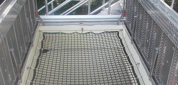 Specialty Netting For Rooftops, Conveyor Belts, Warehouse Distribution Centers and Airports