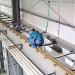 Horizontal Cable Lifeline For Worker Tie-Off at Height