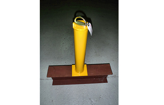 Safety Tie-Back Fall Arrest Post For Fixed Tie-Off