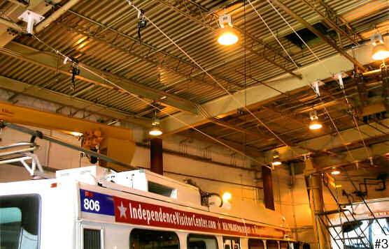 Overhead Cable Lifeline Installation For Transportation Authority Fleet Maintenance