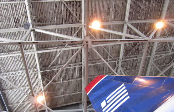 Custom Design and Engineering For Aircraft Hangar Fall Protection