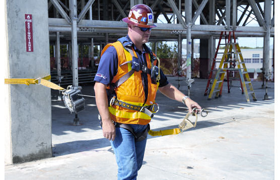 Temporary Horizontal Lifelines Offer Affordable and Effective Fall Protection On Construction Jobsites and Ensure OSHA Compliance