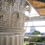 Historic Building Fall Protection With Debris Retention Netting