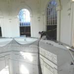 Custom Bracket Installation During Rotunda Restoration of The Maryland State House, Annapolis, Maryland