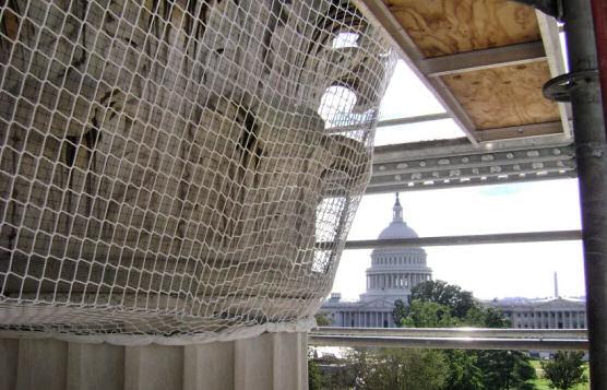 Debris Containment Netting, U.S. Supreme Court Building, Washington, D.C.