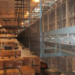 Safety Netting For Conveyor Belt Fall Protection In Industrial Distribution Facility