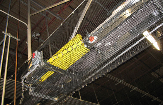 Safety Netting System For U.S. Beverage and Bottling Company Distribution Center