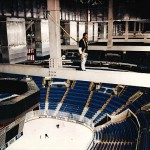 Sports Stadium Catwalk Fall Protection Systems Installation