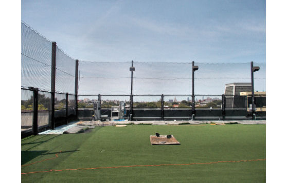 Rooftop Sports Netting - Brooklyn, New York Charter School