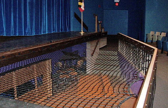 Theater Stage and Orchestra Pit Safety Netting
