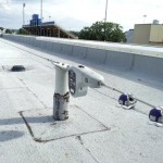 Horizontal Cable Lifeline Installation Atop University Rooftop, Newark, DE