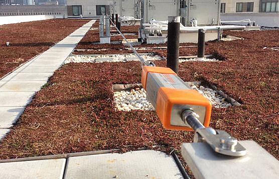 Rooftop Cable Lifelines For Contractor Tie-Off During HVAC or Gutter Work, Philadelphia, PA