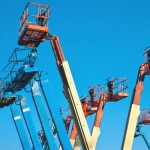 Lift equipment used is only one logistical consideration during fall protection installation.