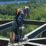 Leading Edge Steel Working Fall Protection Equipment