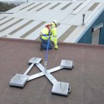 Mobile Rooftop Fall Restraint Systems