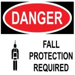 OSHA ANSI Safety Harness Fall Protection Inspection