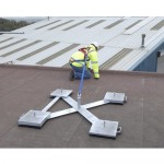Portable Deadweight Anchor For Rooftop Fall Protection