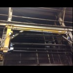 Swing Arm Fall Protection System Motorized